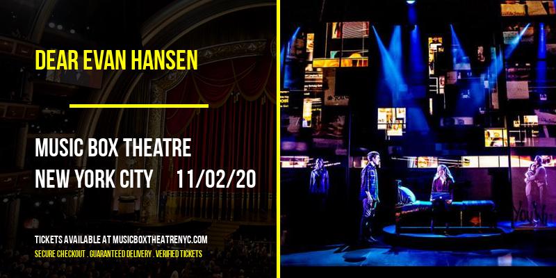 Dear Evan Hansen at Music Box Theatre